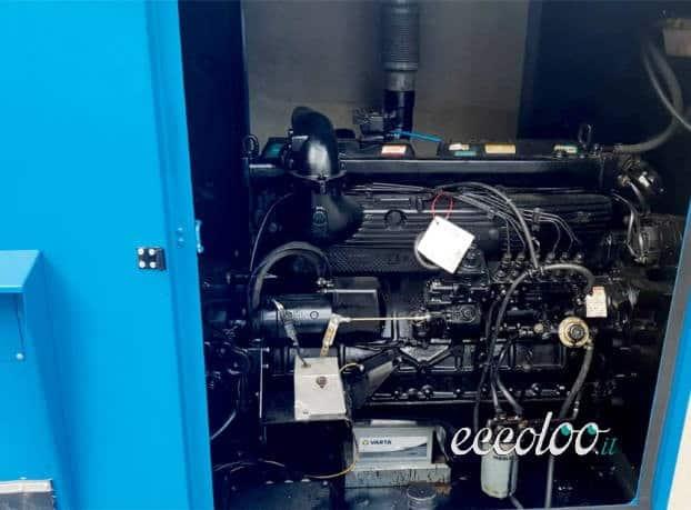 Gruppo elettrogeno generatore di corrente da 120 Kw