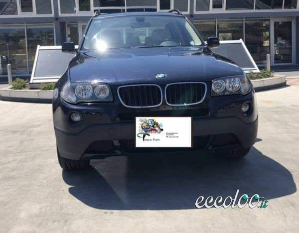 BMW X3 2.0d cat Futura 03/2009 Diesel . €. 11500