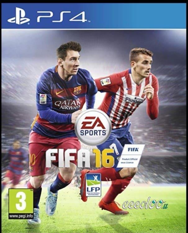 GIOCHI PS4 ASSASSIN'S CREED UNITY-FIFA 16-FIFA 17-FIFA 18-FIFA 19