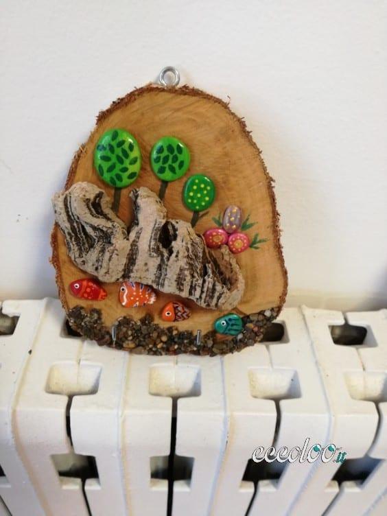 Lavoretti creativi in legno