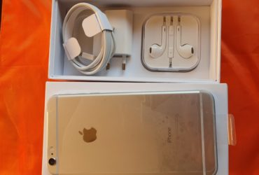 Iphone 6 plus 64gb con cargabateria e cuffia originale