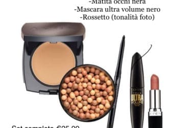 OFFERTE SET MAKE-UP