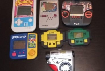 Videogiochi Portatili Anni 90 vintage diversi tipi