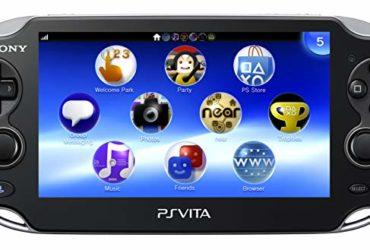 PS Vita WiFi 3G nera per collezionisti
