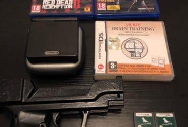 GIOCHI E ACCESSORI PER PS4, NINTENDO DS, WII, GAMEBOY SP