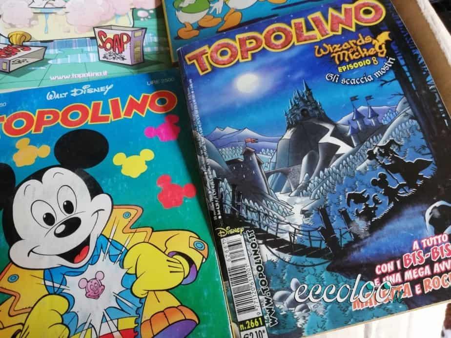 Collezione di fumetti Topolino e almanacchi