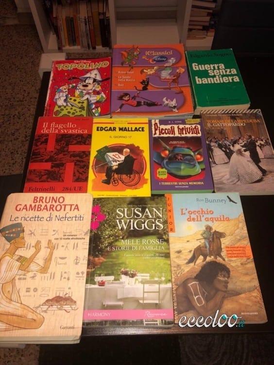 Libri vari a meno della metà del prezzo di copertina