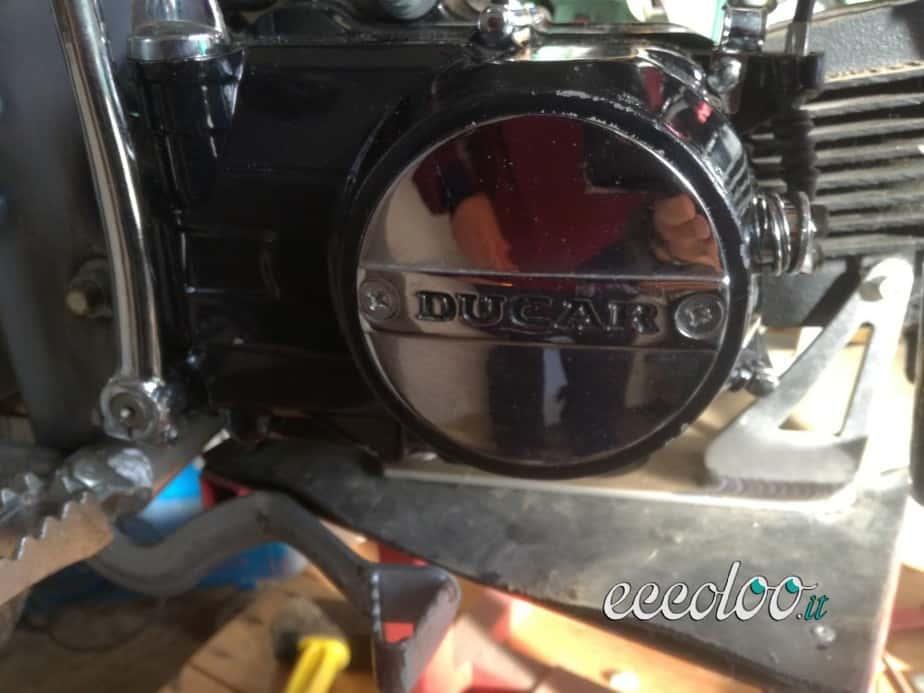 Moto mini cross pit bike a 4 tempi 125 cc