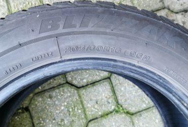 Gomme Invernali Bridgestone 205/60 R16