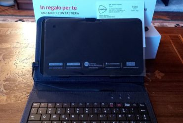 Tablet Android con tastiera